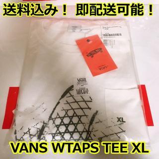 W)taps - VANS バンズ WTAPS ダブルタップス Tシャツ 白 XL 新品
