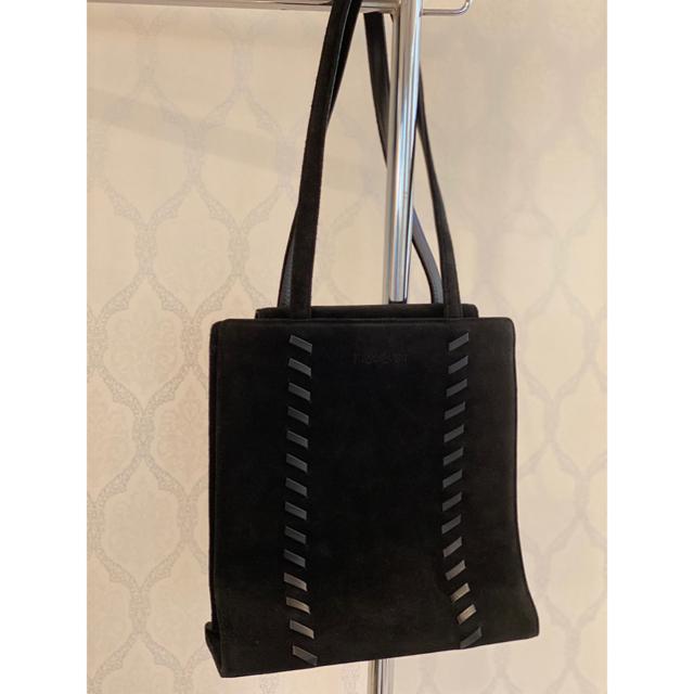Yves Saint Laurent Beaute(イヴサンローランボーテ)の秋冬 AW イヴサンローラン ショルダーバッグ スウェード ブラック レディースのバッグ(ショルダーバッグ)の商品写真