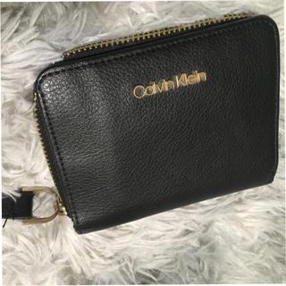 カルバンクライン(Calvin Klein)のCALVIN KLEIN 二つ折り ファスナー財布☆売り切り☆処分品☆(折り財布)