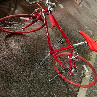 SPEARクロスバイク七段変速