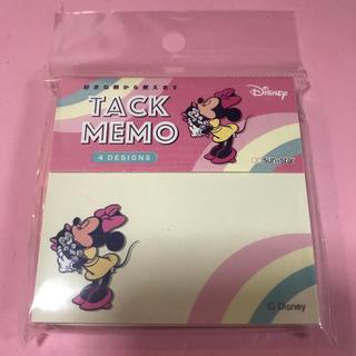 Disney - 【未開封/定価以下】ミニー♡メモ