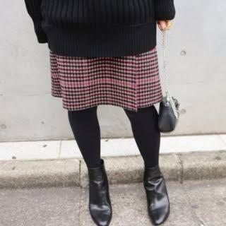 IENA - IENA *Wフェイスリバーシブル スカート*