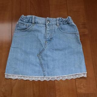 コムサイズム(COMME CA ISM)のコムサイズム 130 デニム スカート(スカート)