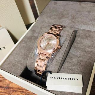 BURBERRY - 【◆スーパーセール◆】バーバリー 超貴重 レディース 腕時計 ★ローズゴールド