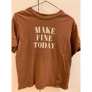 アリシアスタン(ALEXIA STAM)のtシャツ(Tシャツ/カットソー(半袖/袖なし))