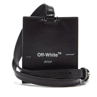 OFF-WHITE - 新品 off-white ネックストラップ 付き キーリング オフホワイト