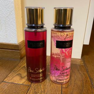 ヴィクトリアズシークレット(Victoria's Secret)のvictoria_secret ボディミスト 香水 一度のみ使用 2本セット(香水(女性用))