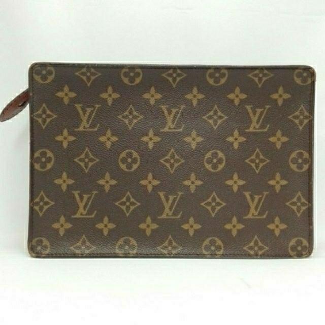 LOUIS VUITTON(ルイヴィトン)のヴィトン LV ポシェットオム クラッチバッグ セカンドバッグ メンズのバッグ(セカンドバッグ/クラッチバッグ)の商品写真