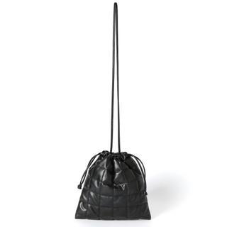 ローリーズファーム(LOWRYS FARM)のLOWRYSFARM キルティングキンチャクBAG (black)(ショルダーバッグ)