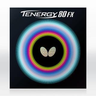 バタフライ(BUTTERFLY)のBUTTERFLY TENERGY 80FX テナジー ブラック 厚 中古(卓球)