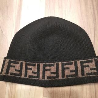 FENDI - FENDI FENDIロゴ ニット帽