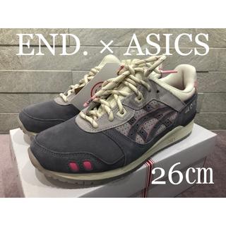 asics - END × ASICS GEL-LYTE III
