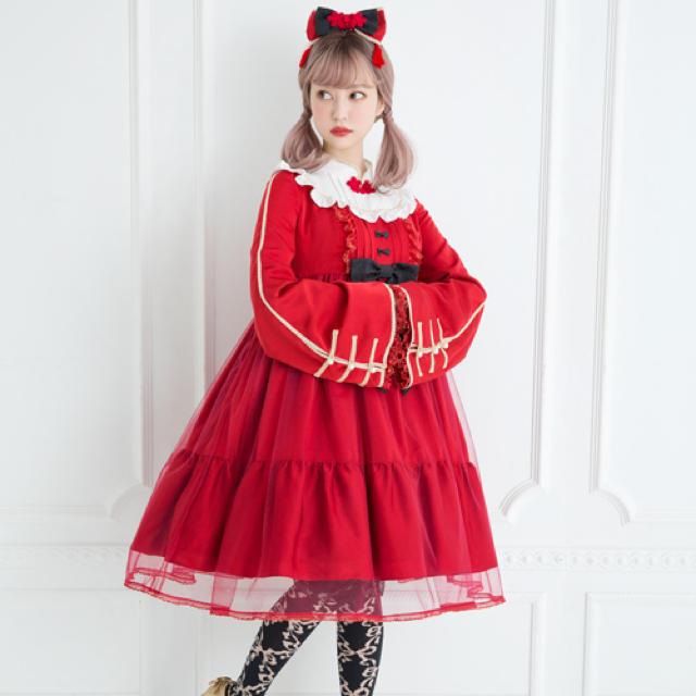 Angelic Pretty(アンジェリックプリティー)のHao Hao PandaワンピースSet レディースのワンピース(ひざ丈ワンピース)の商品写真