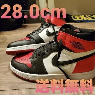 NIKE - NIKE Air Jordan 1 aj1 Jordan1 bred toe