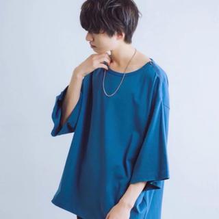 HARE - tai × INTER FACTORY ショルダージップスーパービッグTシャツ