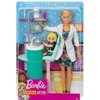 バービー(Barbie)のバービー 歯医者 ケリーちゃん barbie 歯医者さんごっこ(ぬいぐるみ/人形)