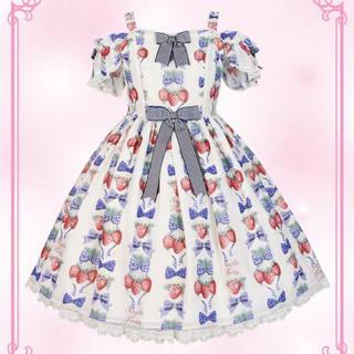 Angelic Pretty - Strawberry Doll ジャンパースカート クリップセット