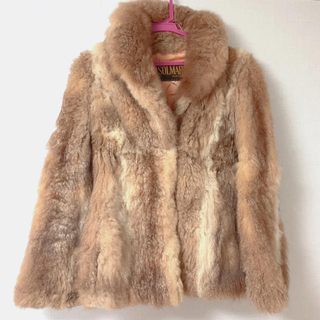エディットフォールル(EDIT.FOR LULU)のEDIT. FOR LULU  UK vintage fur court❤︎  (毛皮/ファーコート)