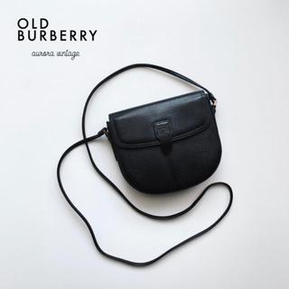 BURBERRY - 【極美品】オールドバーバリー ヴィンテージ ショルダーバッグ 斜め掛け