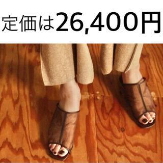 TODAYFUL - Sheer Piping Sandals シアーパイピングサンダル 23.5