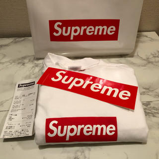 Supreme - supreme Box Logo S/L Tee シュプリーム ボックスロゴ