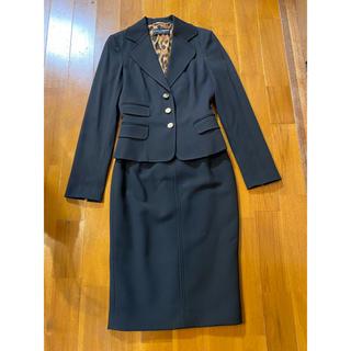 DOLCE&GABBANA - ドルチェアンドガッパーナ☆スカートスーツ☆ブラック☆3836