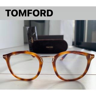 トムフォード(TOM FORD)のあや様専用トムフォード メガネFT5555新品 TOMFORD ハバナ(サングラス/メガネ)