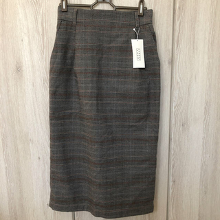 LOWRYS FARM - チェックタイトスカート