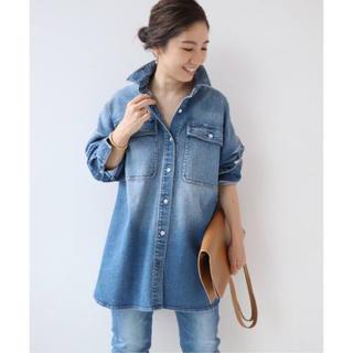 Plage - Healthy denim ヘルシーデニム BLUE BIG シャツ