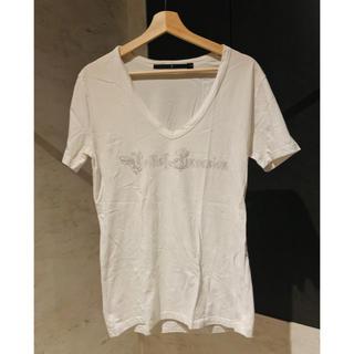 ノーアイディー(NO ID.)のノーアイディー noid Vネック Tシャツ ロゴT メンズ(Tシャツ/カットソー(半袖/袖なし))