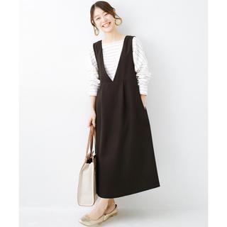 ハコ(haco!)のジャンパースカート(ロングワンピース/マキシワンピース)
