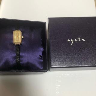 【美品】アガット 時計 agete ダイヤ