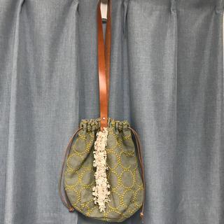 ミナペルホネン(mina perhonen)のミナペルホネン タンバリンバッグ(ショルダーバッグ)