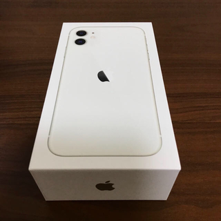 アイフォーン(iPhone)のiPhone11 128GB ホワイト SIMフリー 新品未使用(スマートフォン本体)