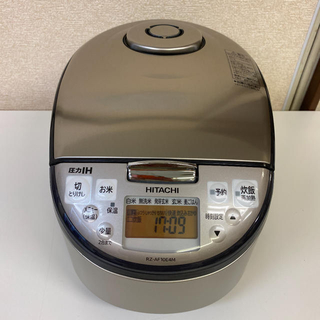 日立 - 【日立】圧力IH炊飯ジャー 5.5合炊  RZ-AF10E4M  2020年製
