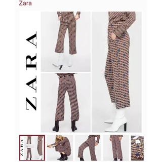 ZARA - 【ZARA】★新品★ロゴプリントパンツ サイズ:S