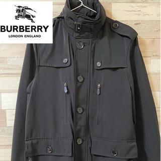 BURBERRY - 【難あり格安】Burberry 隠しフード付きナイロンジャケット