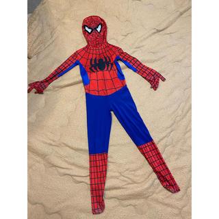 スパイダーマン子ども衣装☆約120-130cm(衣装一式)