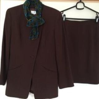 エムズグレイシー(M'S GRACY)のM'S GRACY スーツ 毛100% 9 ブラウン 日本製(スーツ)