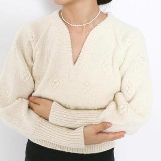 エディットフォールル(EDIT.FOR LULU)のflower knit 💠(ニット/セーター)