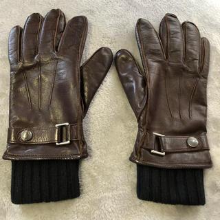 コーチ(COACH)のコーチ レザーグローブ 本革手袋 コーチ手袋 インナー(手袋)