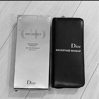 クリスチャンディオール(Christian Dior)のDior ディオール ブラシセット ディオールバックステージ(ブラシ・チップ)
