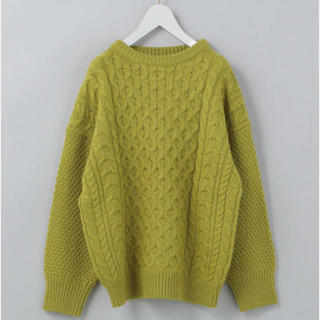 BEAUTY&YOUTH UNITED ARROWS - roku 6 LIGHT CABLE KNIT