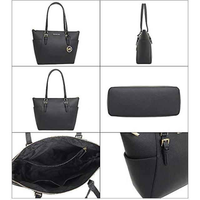 Michael Kors(マイケルコース)のMICHAEL KORS トートバッグ 黒 35T0GCFT7L シャーロット  レディースのバッグ(トートバッグ)の商品写真