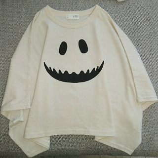 ナルミヤ インターナショナル(NARUMIYA INTERNATIONAL)のビールーム なりきりオバケ変形Tシャツ (Tシャツ/カットソー)