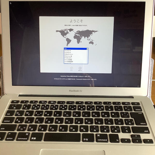 Apple - Macbook Air 13インチ 2017  美品 元箱ほか付属品完備