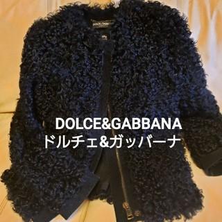 DOLCE&GABBANA - DOLCE&GABBANA 毛皮ショートコート