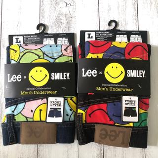 リー(Lee)の〓Lee×smiley〓新品 ボクサーパンツ 2枚set  size L(ボクサーパンツ)
