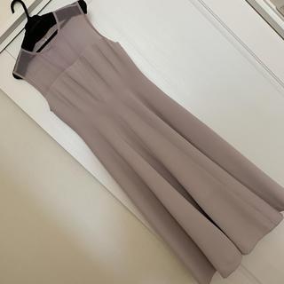 FRAY I.D - frayid シースルーベアフレアワンピース ドレス