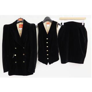 90s ヴィヴィアンウエストウッド ベロア セットアップ ジャケット スカート
